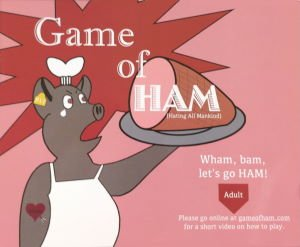 Game of Ham board game 2019