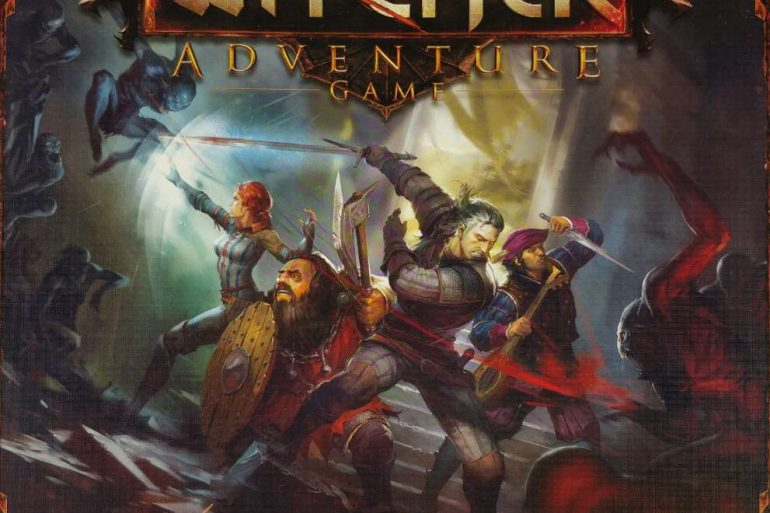 The Witcher adventure game 2014 cover