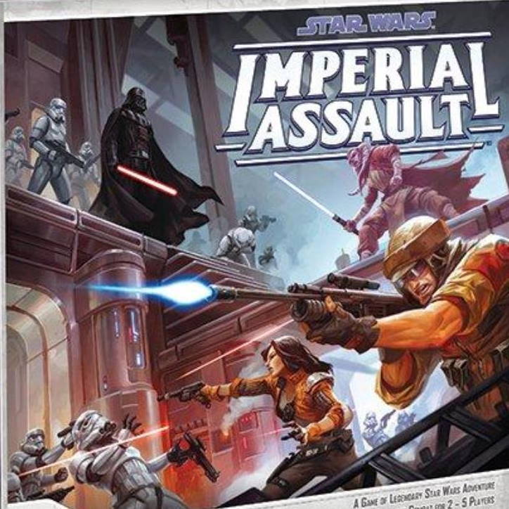 Star Wars Imperial Assault 2014 gameboxfront