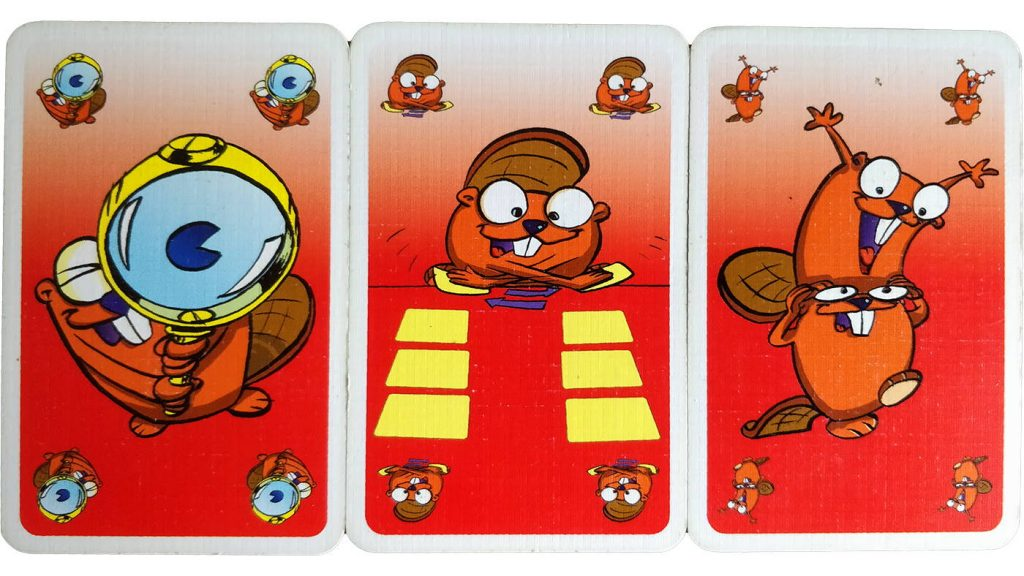 Beaver Gang 1995 action cards
