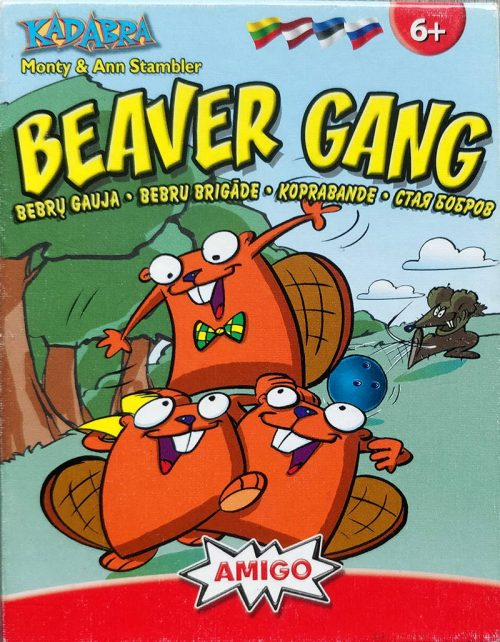 Beaver Gang (1995) card game cover