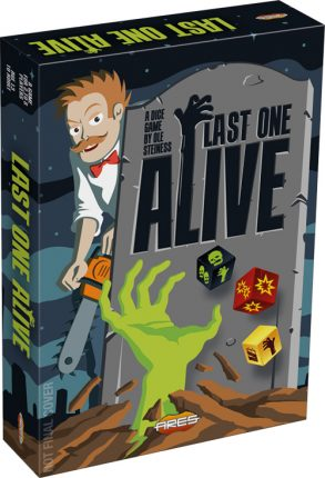 Last One Alive board game cover