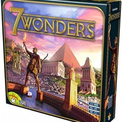 7 Wonders board game 2010 cover