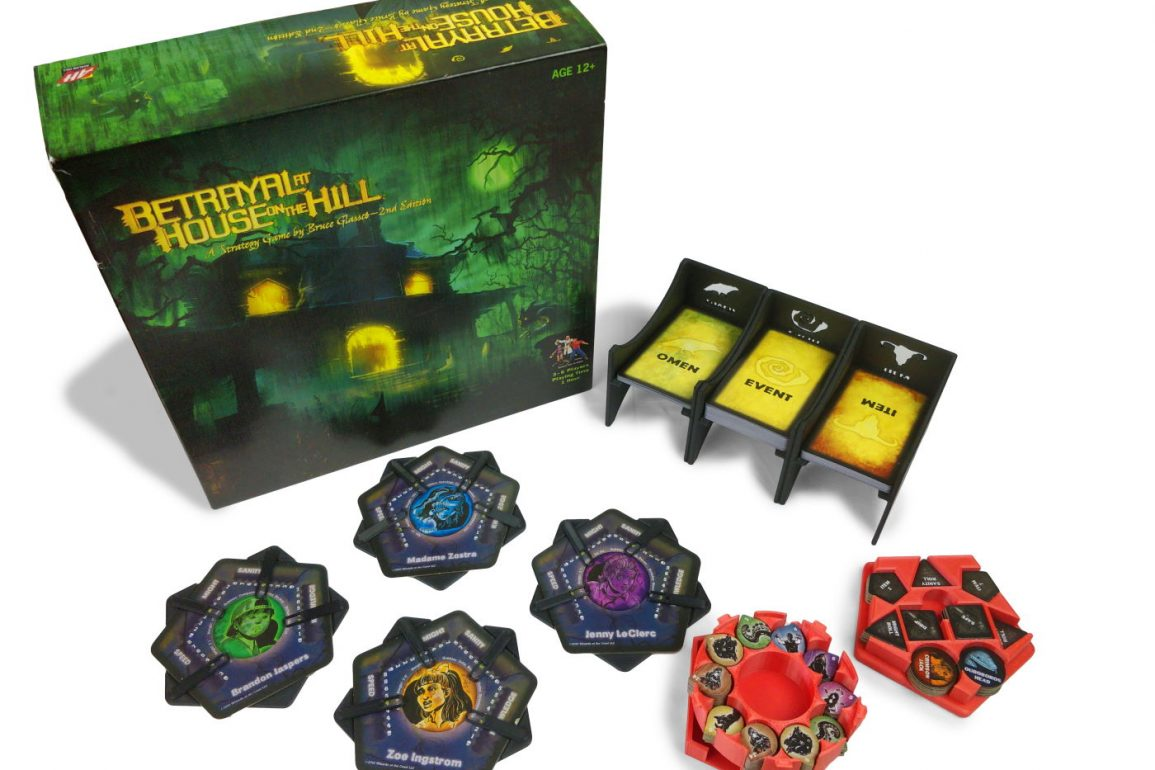 Betrayal at House on the Hill 3d printable inserts