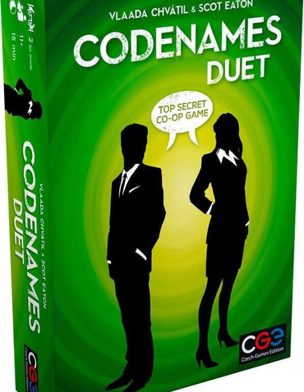 Codenames Duet card game 2017 cover