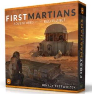 First Martians board game 2017 cover