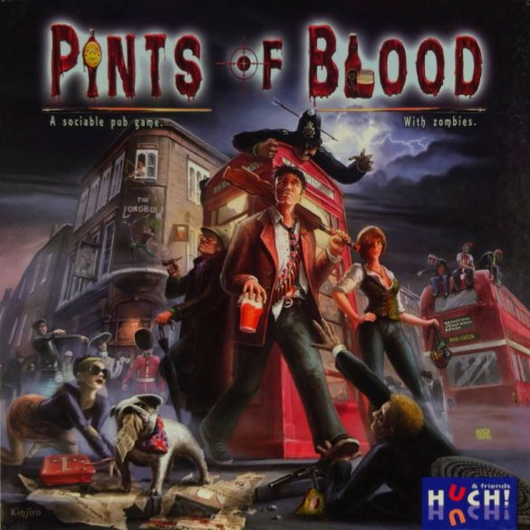 Pints of Blood board game (2014) cover