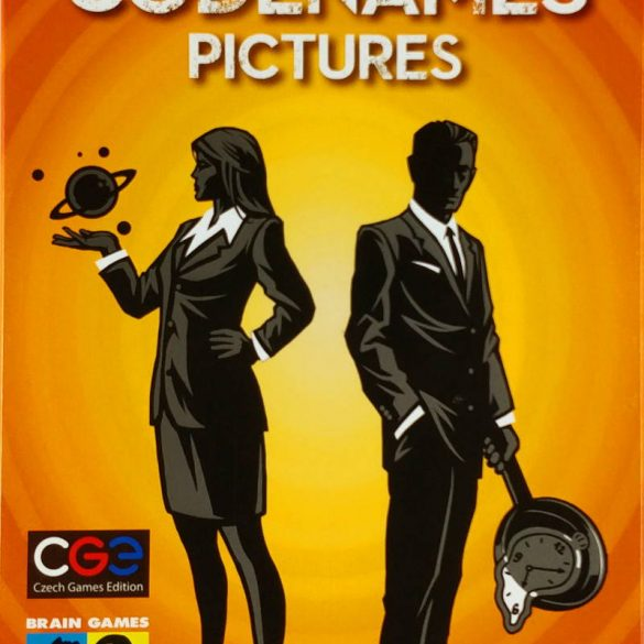 Codenames Pictures card game 2016 cover