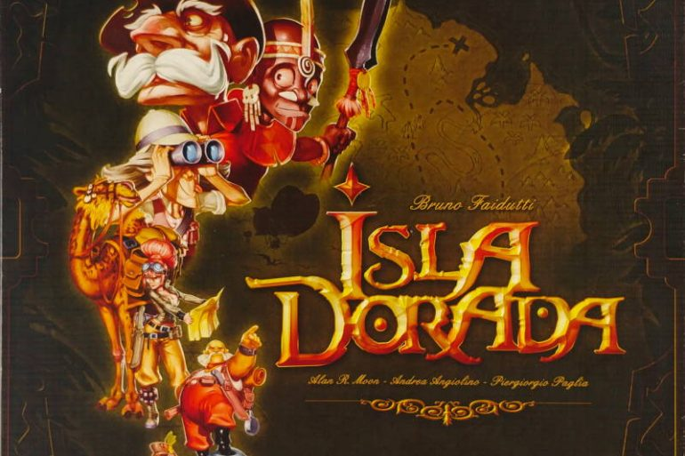 Isla Dorada board game 2010 cover