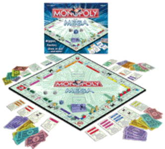 Monopoly - The mega edition 2006 cover
