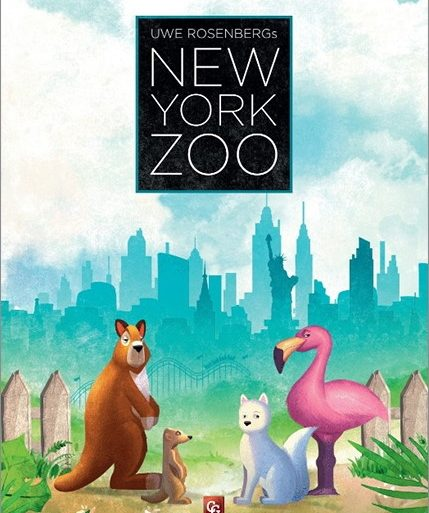 New-York-Zoo board game 2020 cover
