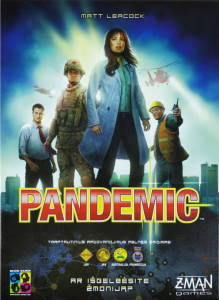 Pandemic board game 2008 small cover