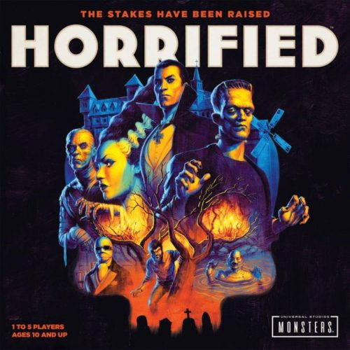 Horrified board game 2019 cover