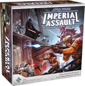 Star Wars Imperial Assault 2014 cover