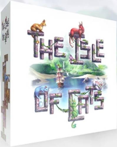 The Isle of Cats board game 2019 cover