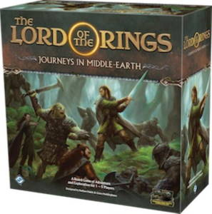 The Lord of the Rings Journeys in Middle-earth 2019 cover