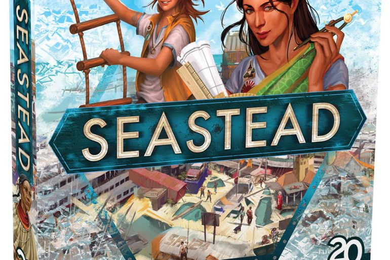 Seasted board game 2020 cover